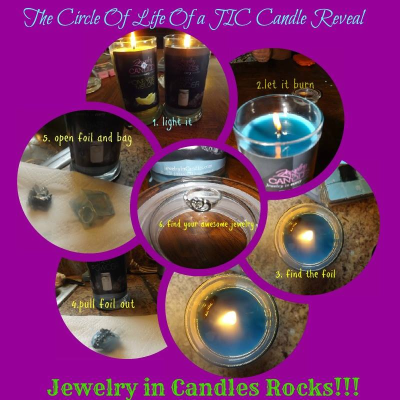 jewelry in candles candle in your scent choice jewelry