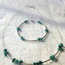 Jade Necklace and bracelet