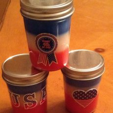 Scented Patriotic Candles