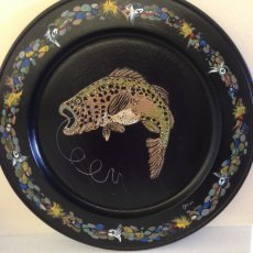 Wood Plate - Bass, Lures and Line