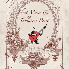 John H. Clarke Sheet Music and Tab Pack