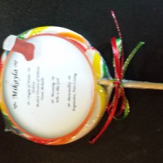 christmas swirlpops can be personalized