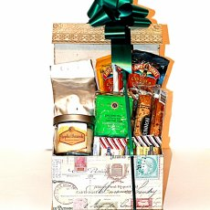 Gourmet Decorative Coffee Gift Box