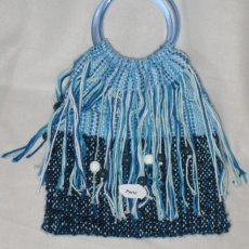 Beautiful blue purse!