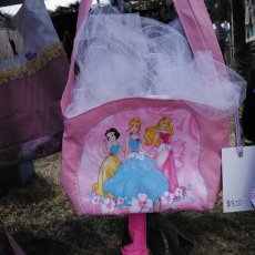 Disney princess girls purse