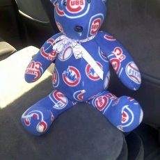 Chicago Cubs teddy bear