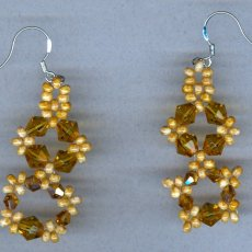 Dangling beaded Earrings