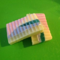 Tutti Fruiti Goats Milk Soap (price is for 2 slices)