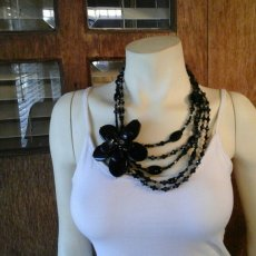 Onyx Precious Stones Necklace