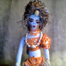 Mandarine Soft Sculpted Mermaid Soll Statue