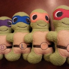 Teenage Ninja Mutant Turtle Plush Dolls