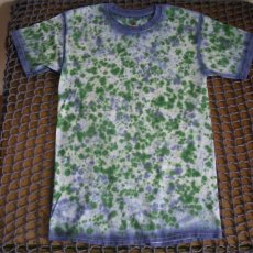 small hand dyed adult t-shirt