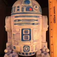XXXL R2D2 Trophy Soap.  Hand painted highlights.  One of a Kind!