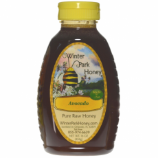 Avocado Honey 16oz (Pure Raw and Unfiltered)
