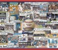 Chicago Cubs 2016 World Series Newspaper Collage Print Art