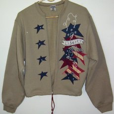 "Hand-crafted ""Liberty"" Cardigan"