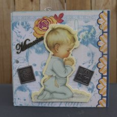 Little Boy Blue Baby Keepsake Album