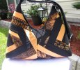 Black and Tan Shoulder Bag