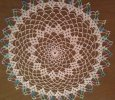 Beautiful Pastel Color Trimmed Doily
