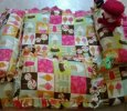 4 PIECE BABY tlc BABY BLANKET AND PILLOW SET