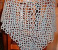 Crochet adult shawl