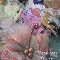 Wholesale Bulk Flower Appliqués, Fabric Flowers, Set of 12, DIY Headbands, DIY Wedding, DIY Flowers