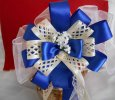 Blue Satin Wedding, Event and Party Bow