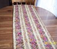 Cascading roses 14 X 36 table runner