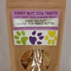 Waggy Butt Dog Treats LLC/Big Butt Poutin' for Peanut Butter