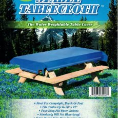 Stable Tablecloth Water Weightable Table Cover