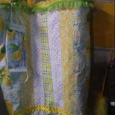 Patches of lemons shopping bag