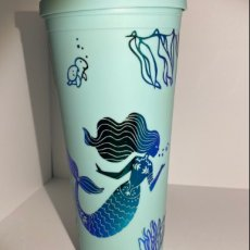 Mermaid and Dragon Acrylic Tumbler