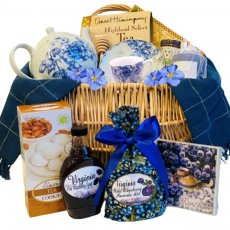 Teatime with Teapot Set Gift Basket