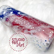 4th of July Stainless Tumbler
