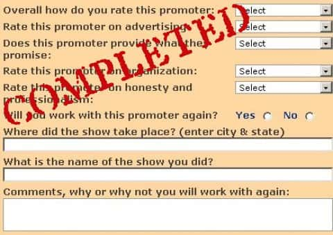 #8 Allow Festival Promoters to Respond to Show Ratings and Comments
