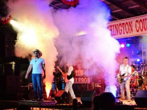 Tim Charon Band in Concert