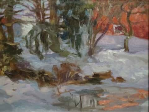 Icy Pond (Sold)