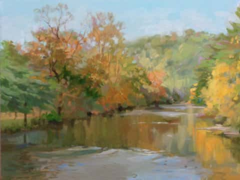 View From the Foot Bridge (Sold)