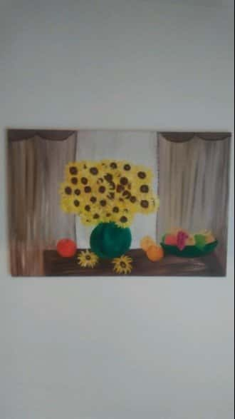 Sunflowers With Fruit