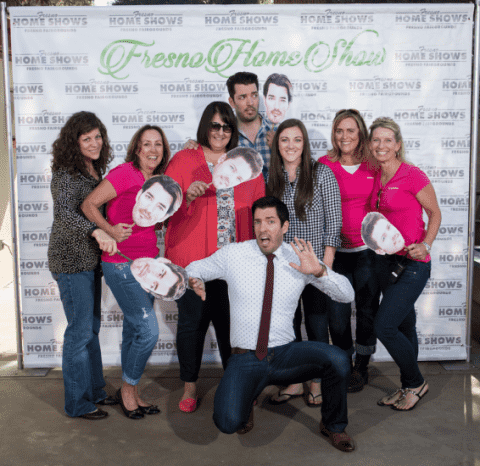 Jonathan & Drew Scott at Fresno Home Show!