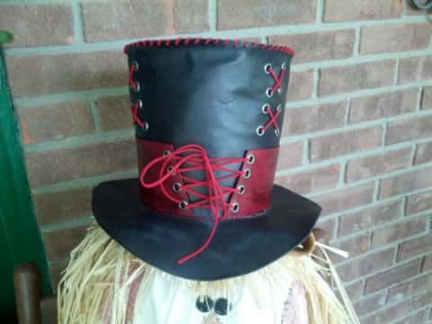 Mad Hatter Hat with Corset
