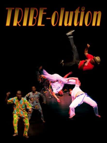 Global Heat's Production of TRIBE-olution Roots of hip hop theatre show