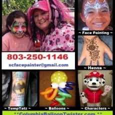 Emeralds' Artistry Face Painting & Balloons