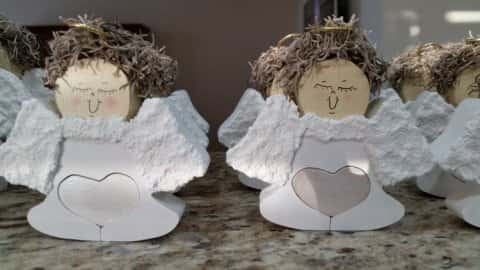Angels With Hearts-$5.00 Each + Tax + Shipping.