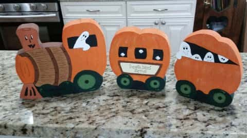 Pumpkin Barrel Express Train