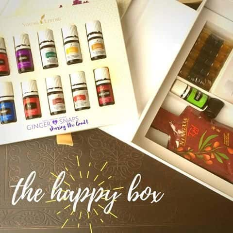 Young Living Starter Kit AKA Happy Box, Also Comes With a Diffuser!