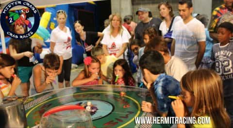 Crab Races at Convention