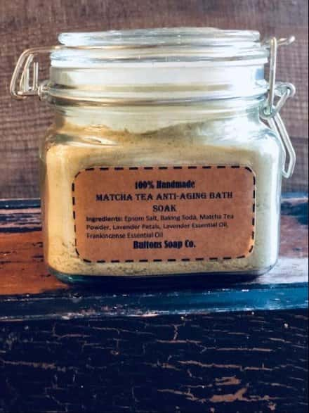 Matcha Tea Anti Aging Bath Salt