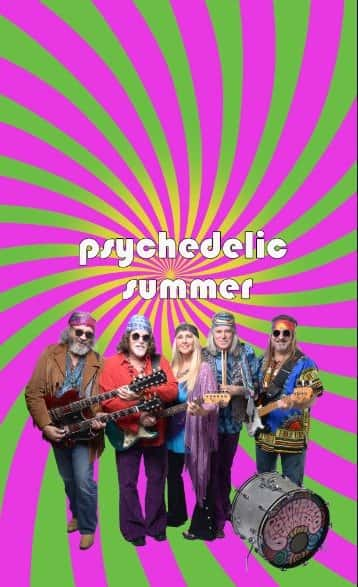 Psychedelic Summer Poster