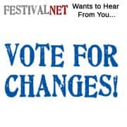 Festivalnet Wish List - Members Rate/Vote/Comment on Changes